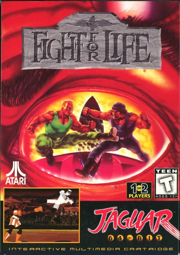 Fight for Life - Box Front