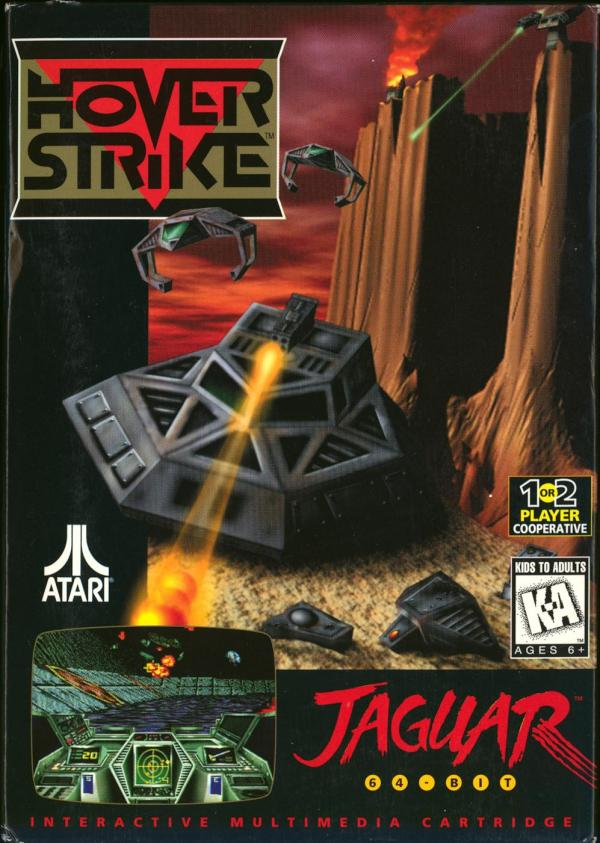 Hover Strike - Box Front