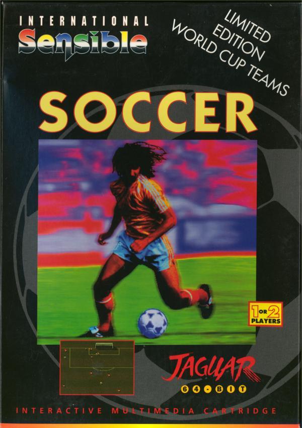 International Sensible Soccer - Box Front