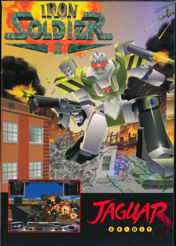 Iron Soldier II - Box Front