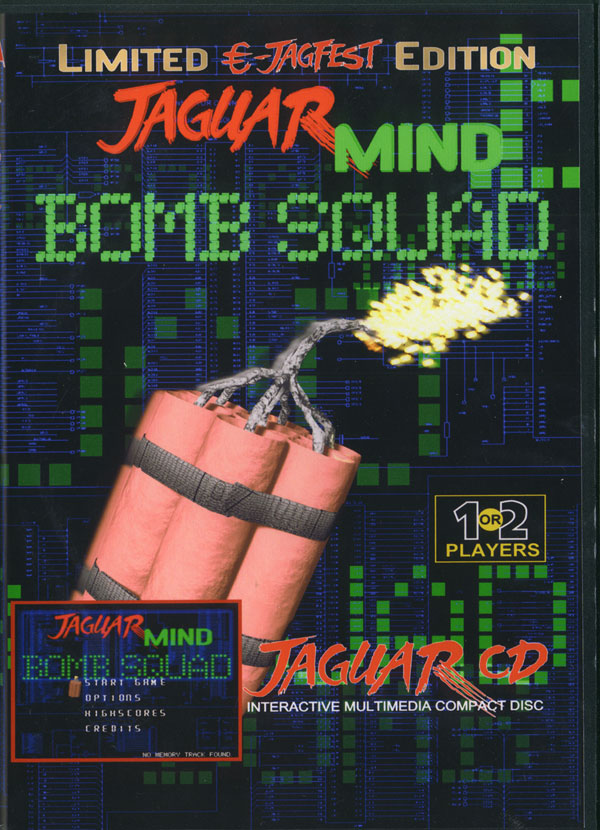 JagMIND: Bomb Squad - Box Front