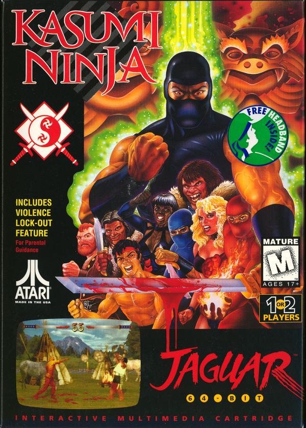 Kasumi Ninja - Box Front