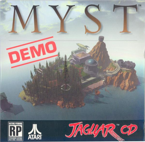 Myst Demo - Box Front