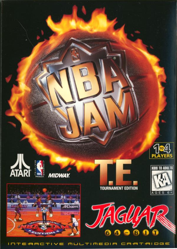 NBA Jam: Tournament Edition - Box Front