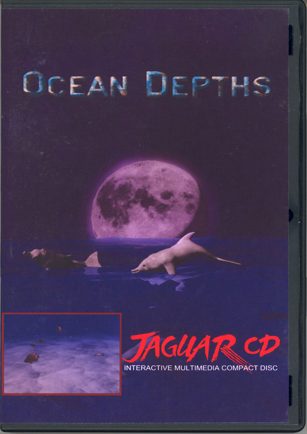 Ocean Depths - Box Front