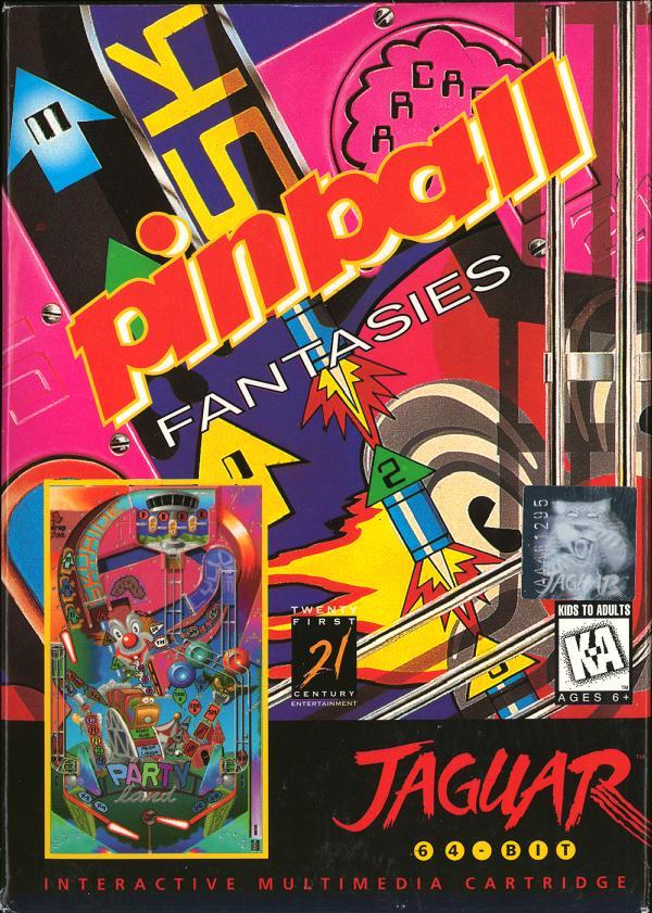 Pinball Fantasies - Box Front