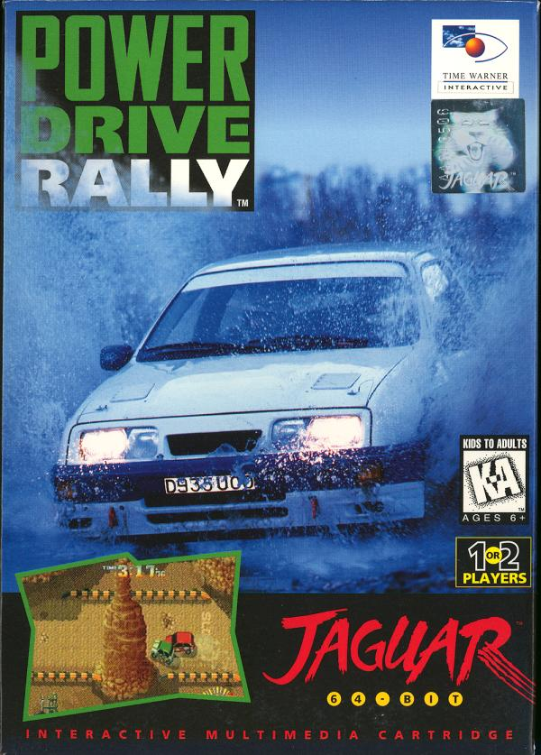 Power Drive Rally - Box Front