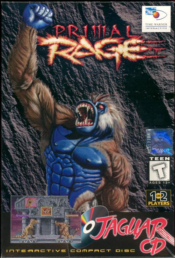 Primal Rage - Box Front