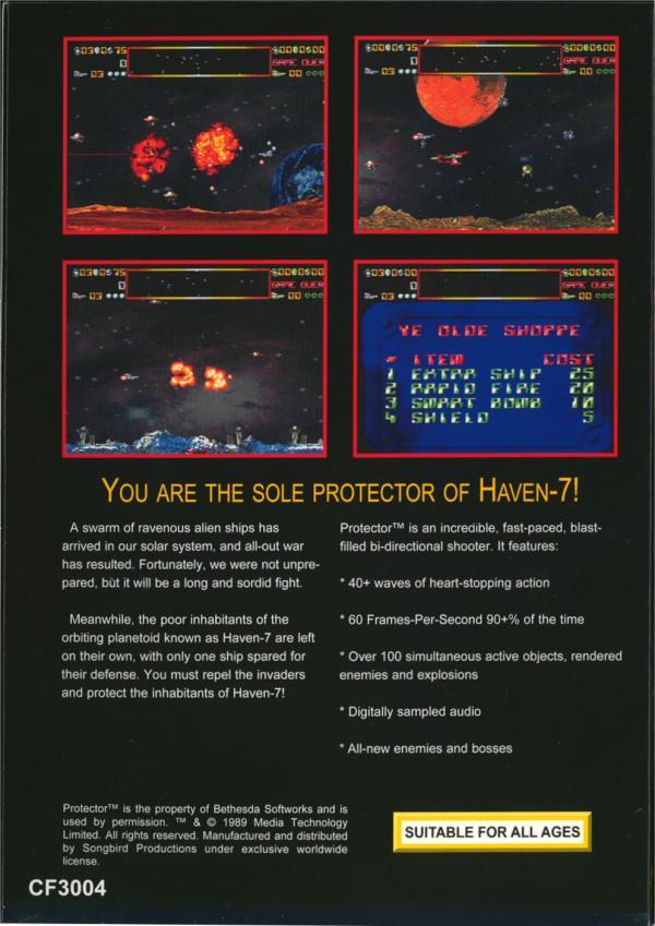 Protector - Box Back