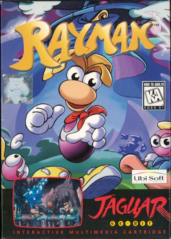 Rayman - Box Front