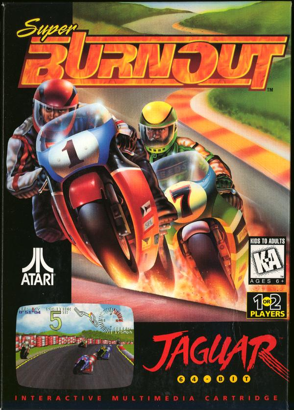 Super Burnout - Box Front