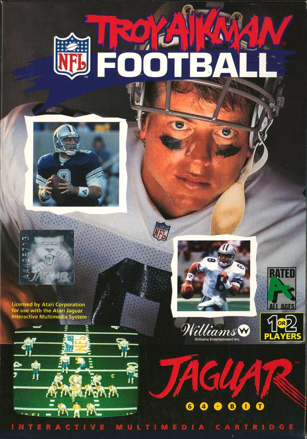 Troy Aikman NFL Football - Box Front