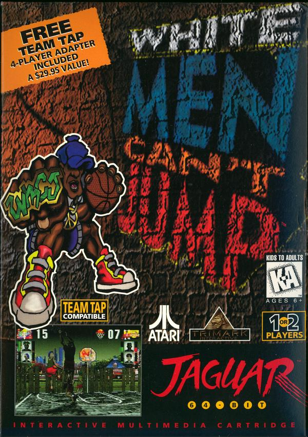 White Men Can't Jump - Box Front