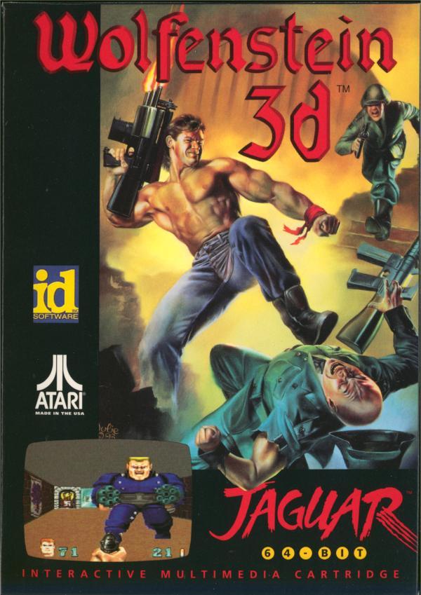 Wolfenstein 3D - Box Front