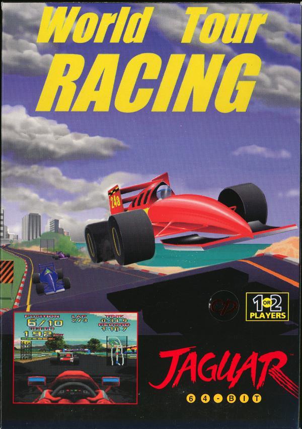 World Tour Racing - Box Front