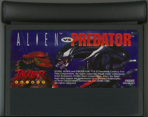 Alien vs. Predator - Cartridge Scan