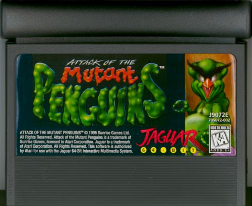 Attack of the Mutant Penguins - Cartridge Scan