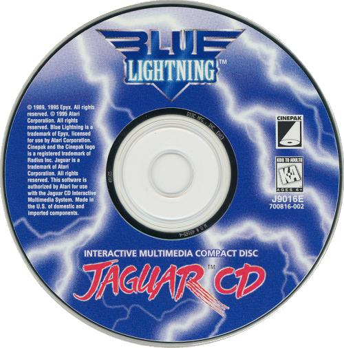 Blue Lightning - Cartridge Scan