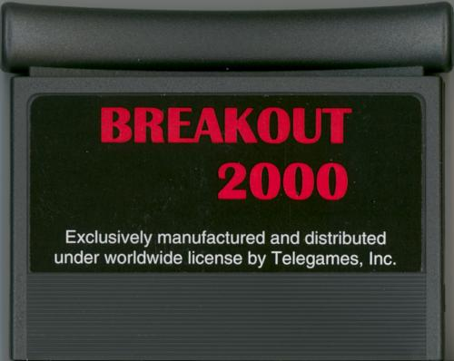Breakout 2000 - Cartridge Scan
