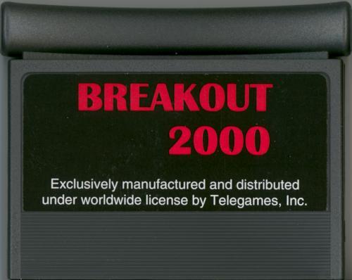 Breakout 2000 - Cartridge Scan