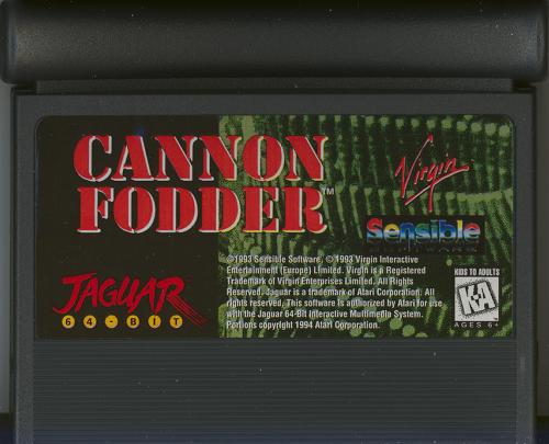Cannon Fodder - Cartridge Scan