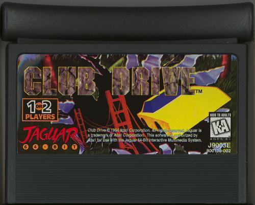 Club Drive - Cartridge Scan