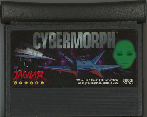 Cybermorph (1 Meg) - Cartridge Scan