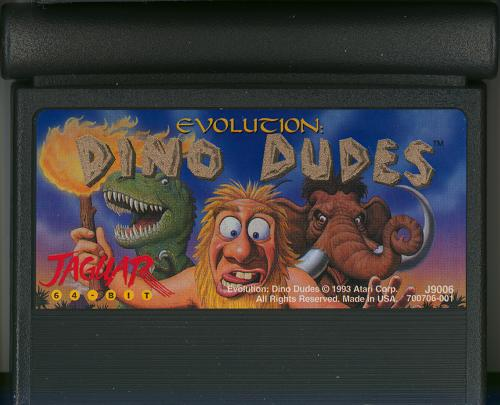 Evolution: Dino Dudes - Cartridge Scan