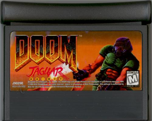 DOOM - Cartridge Scan