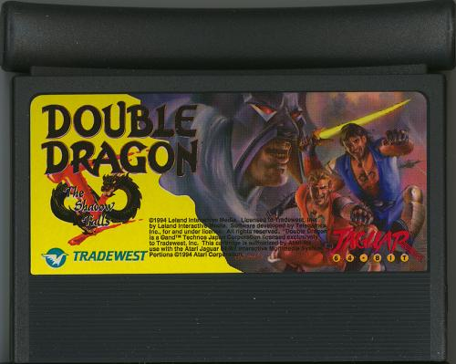 Double Dragon V - Cartridge Scan