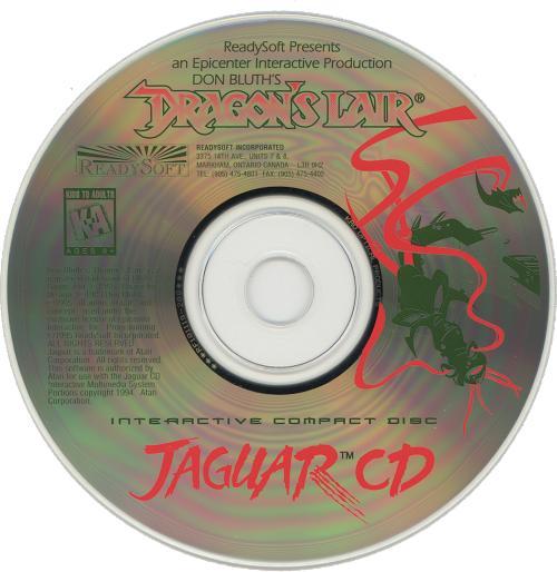 Dragon's Lair - Cartridge Scan