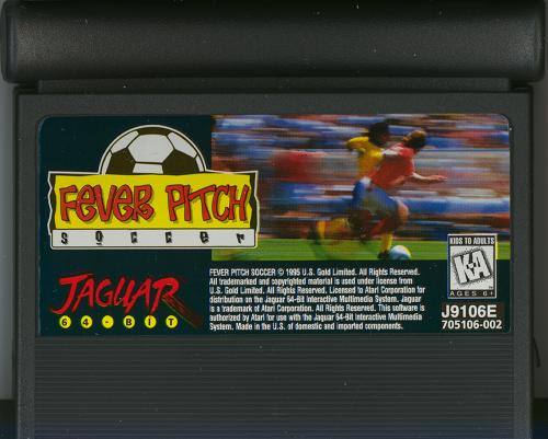 Fever Pitch Soccer - Cartridge Scan