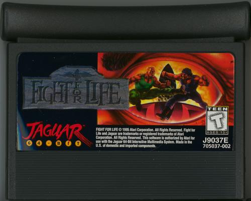 Fight for Life - Cartridge Scan
