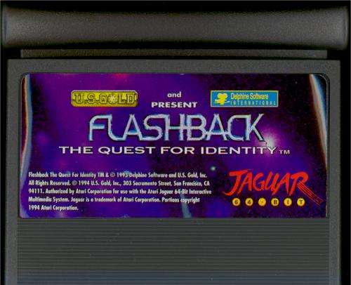 Flashback - Cartridge Scan