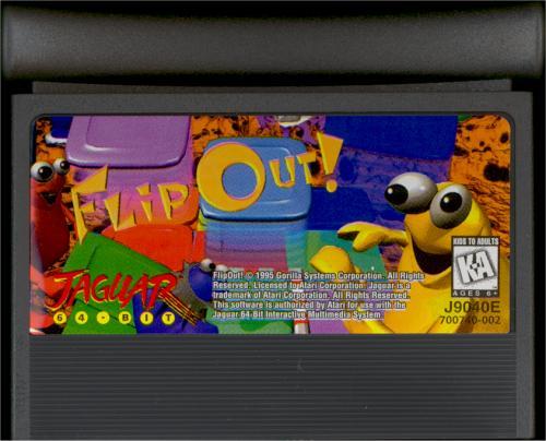Flip Out - Cartridge Scan