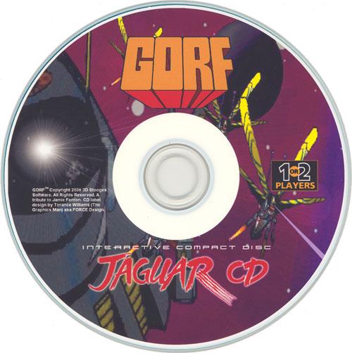 GORF Classic - Cartridge Scan