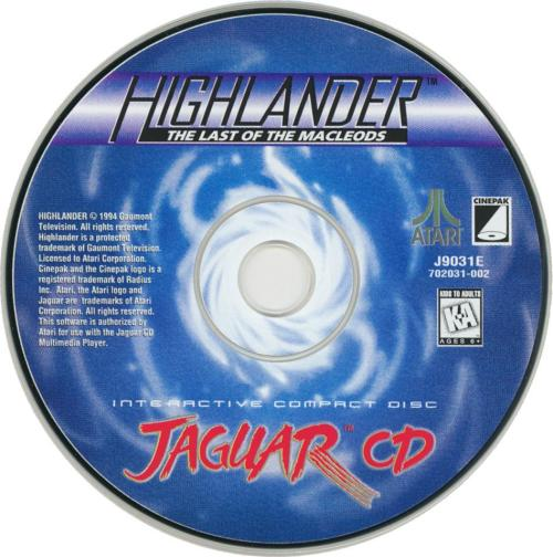 Highlander - Cartridge Scan