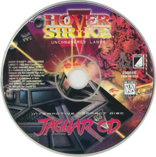 Hover Strike: Unconquered Lands - Cartridge Scan