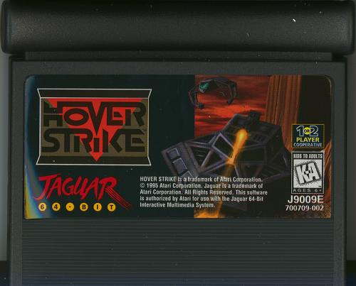 Hover Strike - Cartridge Scan