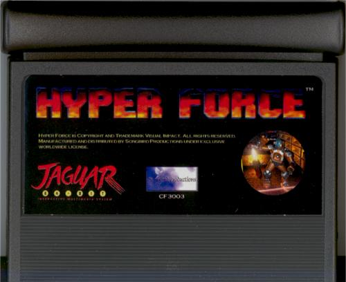 Hyper Force - Cartridge Scan