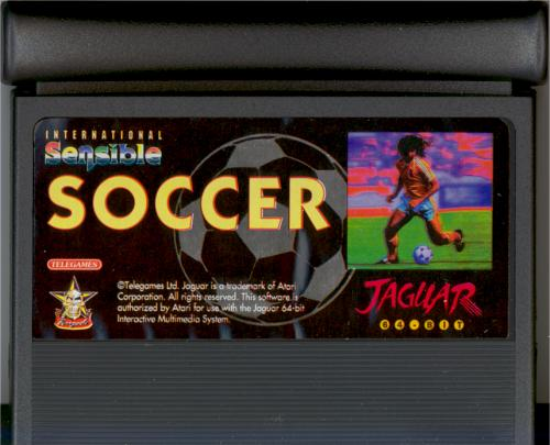 International Sensible Soccer - Cartridge Scan