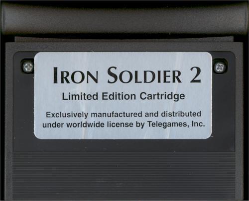 Iron Soldier II - Cartridge Scan