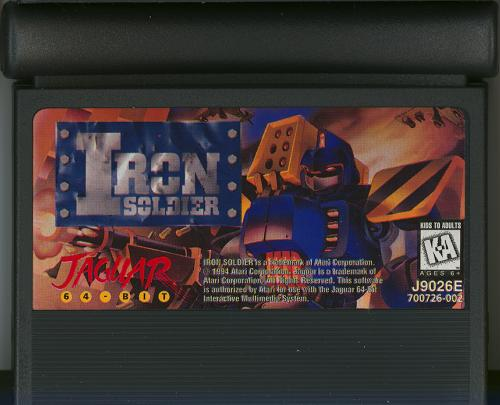Iron Soldier - Cartridge Scan