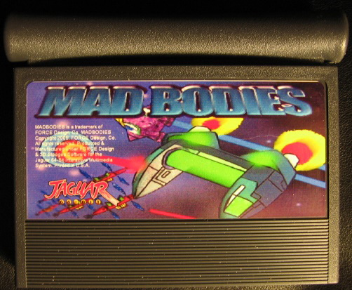 Mad Bodies - Cartridge Scan