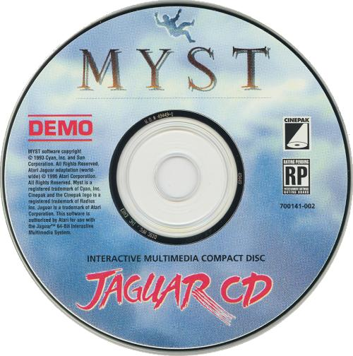 Myst Demo - Cartridge Scan