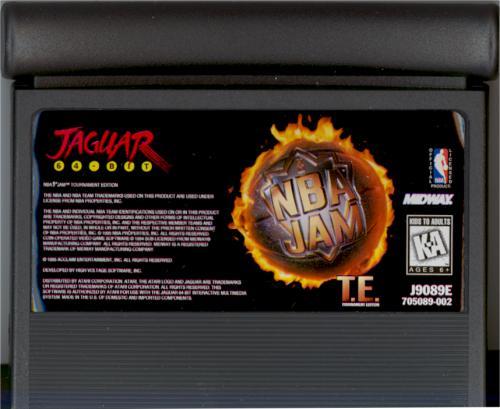 NBA Jam: Tournament Edition - Cartridge Scan