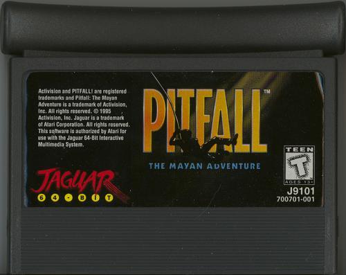 Pitfall: The Mayan Adventure - Cartridge Scan