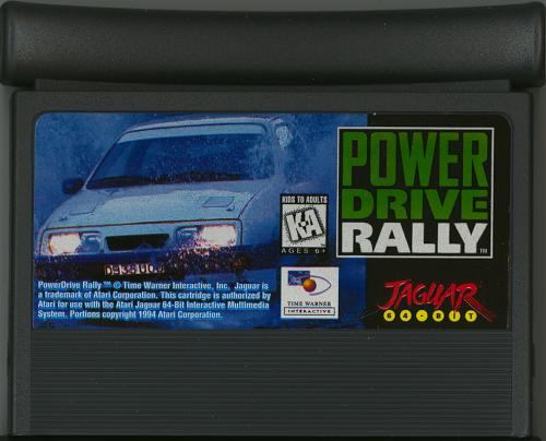 Power Drive Rally - Cartridge Scan