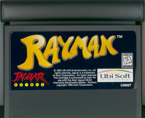 Rayman - Cartridge Scan