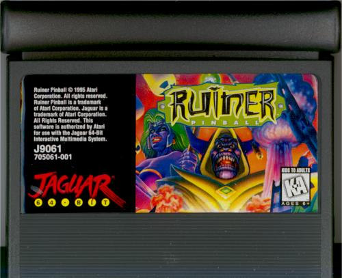 Ruiner Pinball - Cartridge Scan